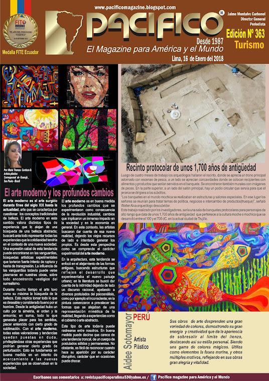 Revista Pacifico Nº 363 Turismo
