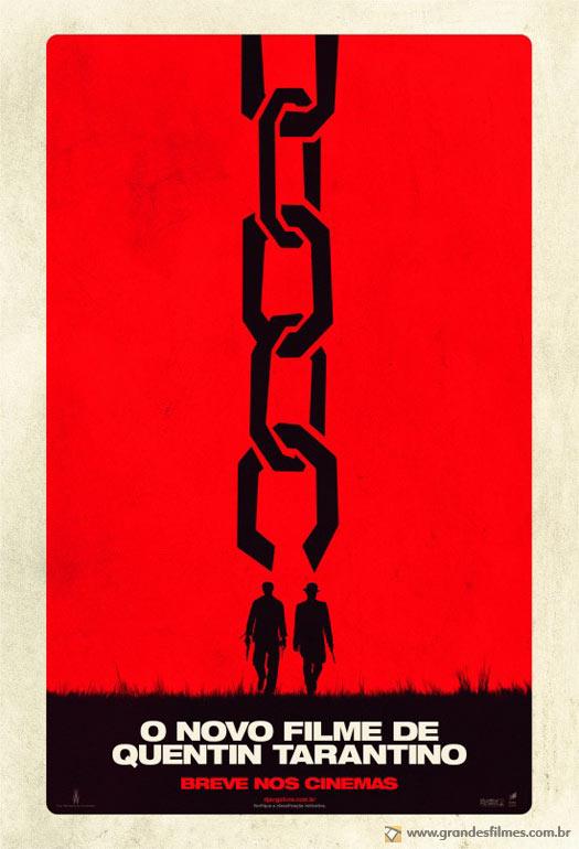 Poster de Django Livre, de Quentin Tarantino