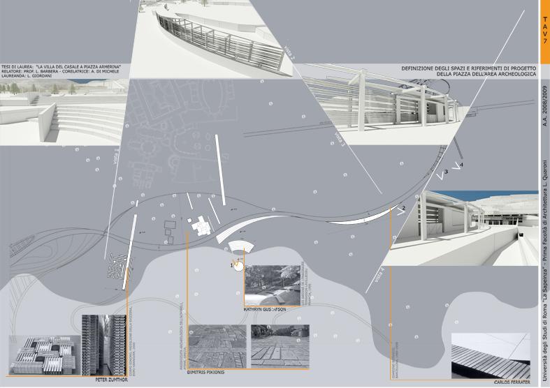 grafica e tavole architettura