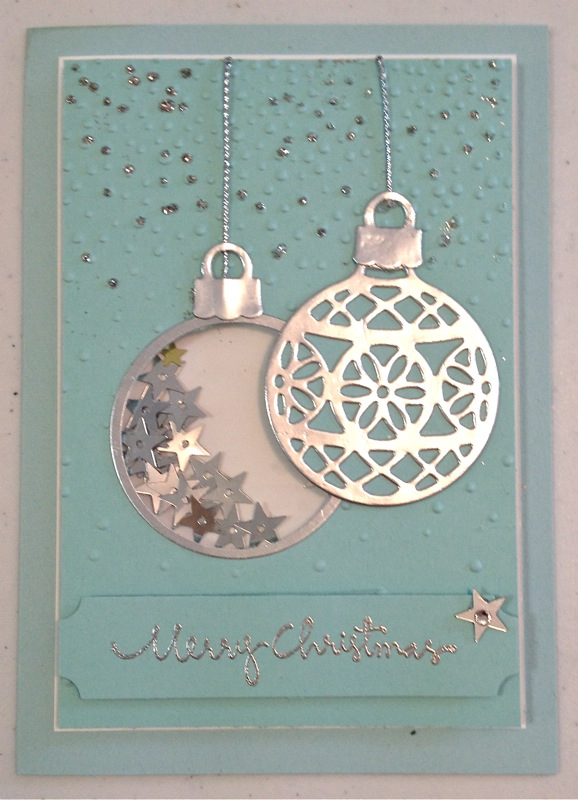 ornament christmas cards