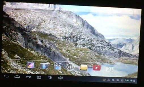 Reparar cámara de un tablet (pantalla verde)