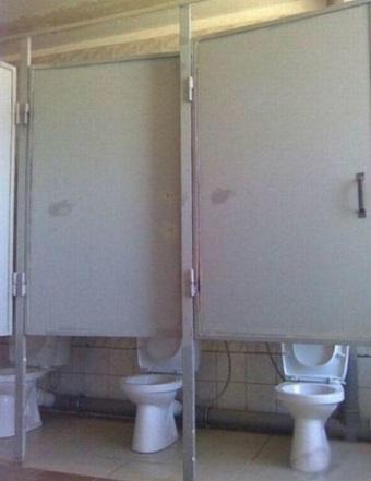 Foto Lucu Toilet-Toilet Umun di China