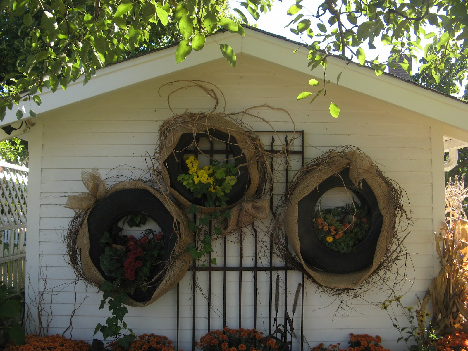 Ever ready diy do it yourself projects i was instantly attracted to the tire projects since we have two huge stacks of tires in the garage which i would love to get solutioingenieria Gallery