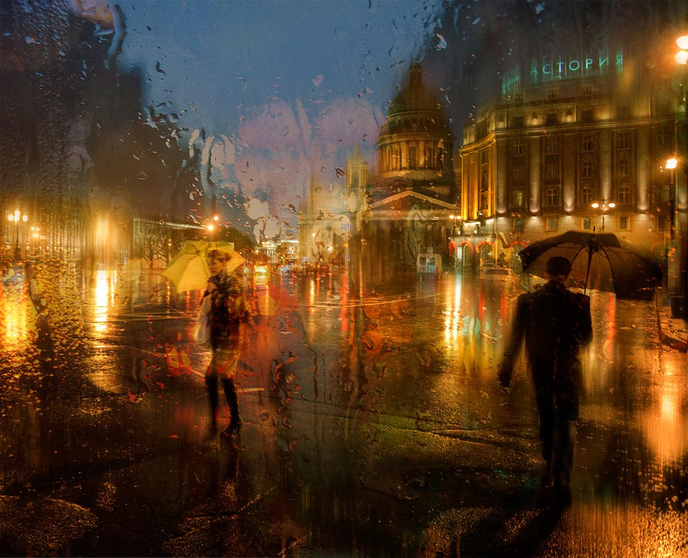 15-Eduard-Gordeev-Гордеев-Эдуард-Photographs-in-the-Rain-that-look-like-Oil-Paintings-www-designstack-co