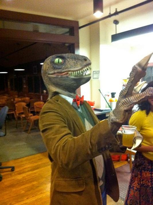 Philosopher Dinosaur Costume
