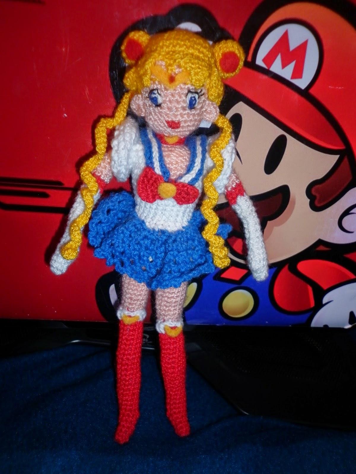 Amigurumi Anleitung Sailor Moon : Amigurumis kawai: Sailor Moon Amigurumi