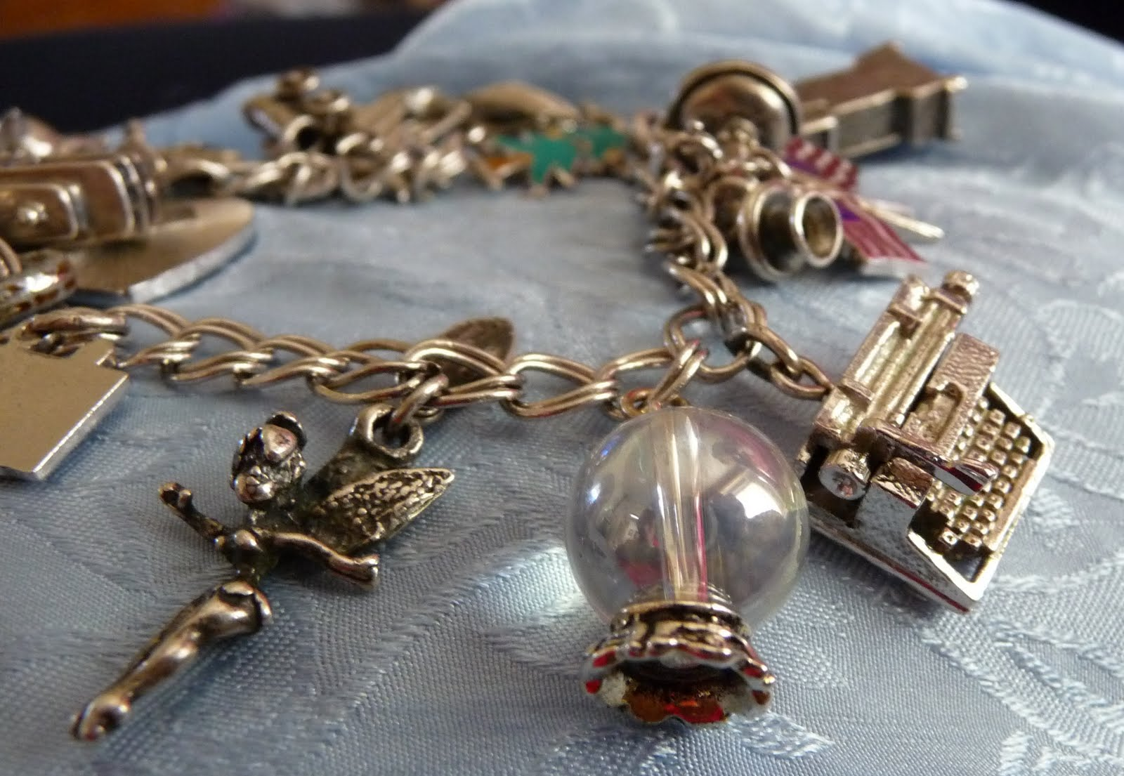 Summertime Charm Bracelet - Cool Chick Photo Jewelry