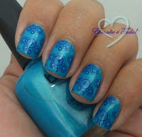 azul para carimbo - blant