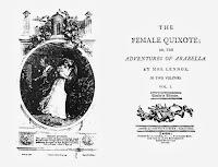 Book cover: Female Don Quixote Image source: http://upload.wikimedia.org/wikipedia/commons/f/f9/Charlotte_Lennox_The_Female_Quixote_Cooks_Edition.jpg