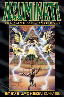 Steve Jackson's Illuminati Box Art