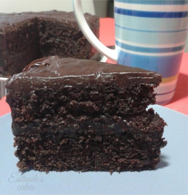receta de bizcocho de chocolate rápido - 1