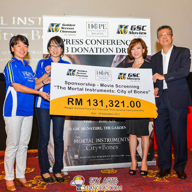 GSC-HOPE worldwide Malaysia 2013 Donation Drive managed to raise over RM 126,000 to fund community projects to improve the lifestyle of needy fmilies through quality healthcare and education aid