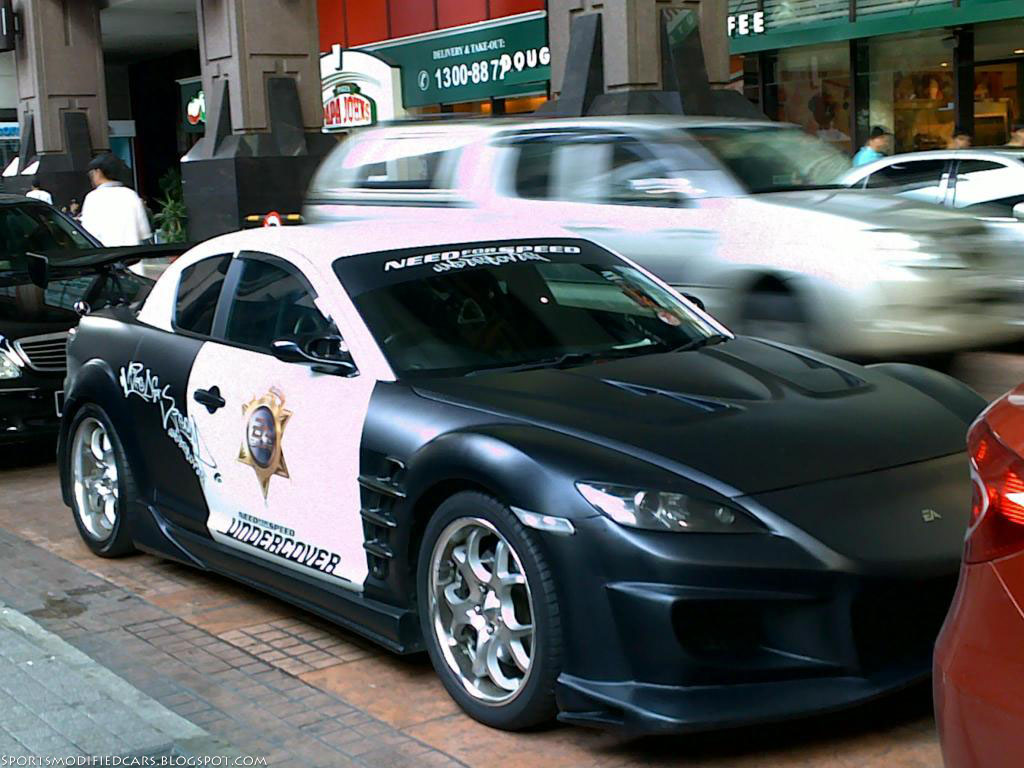 Need for speed undercover mazda rx8