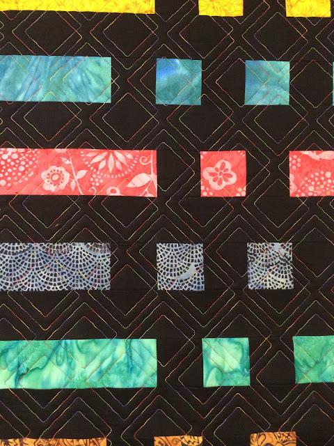 Sally Krebs's Morse-Code Quilt