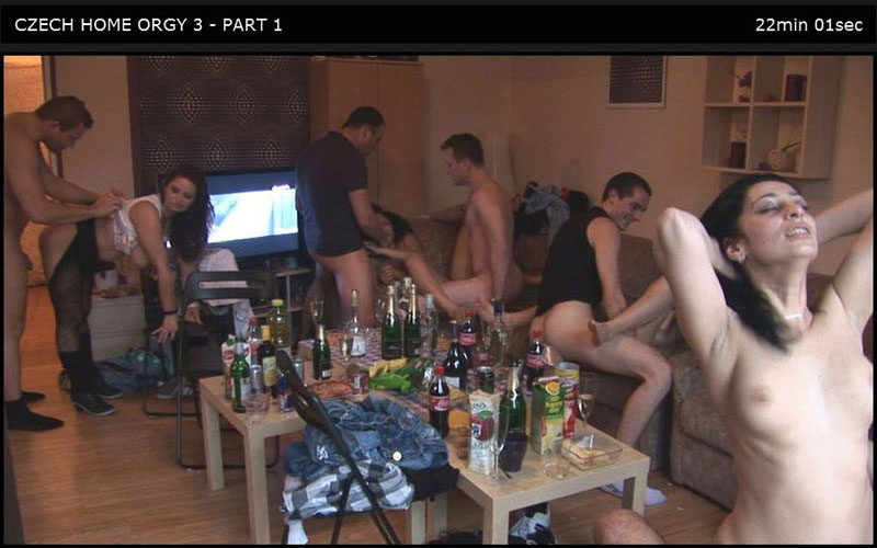 Czech Home Orgy 03 Part 1