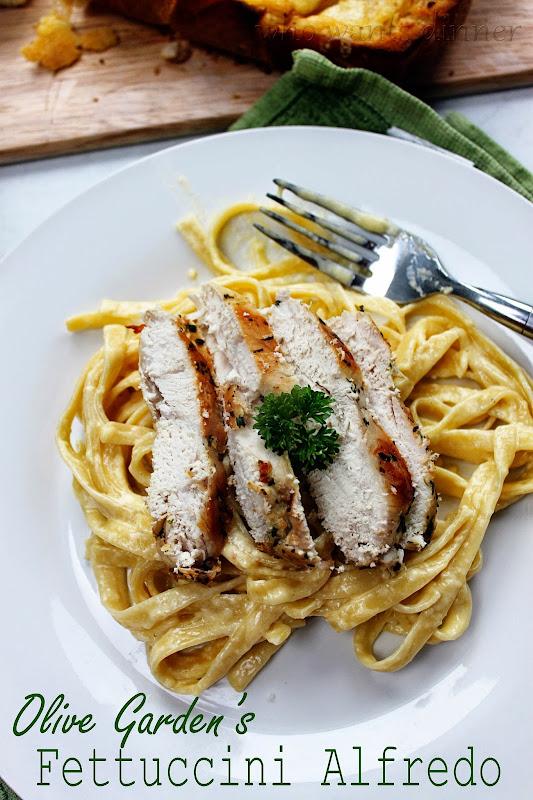 Who Wants Dinner Olive Garden 39 S Fettuccini Alfredo
