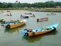 brunei  Fishing Boats