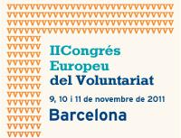 Logo Congrés Europeu del Voluntariat