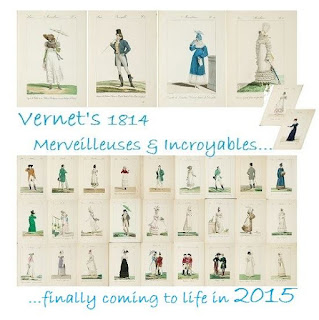 Vernet's 1814 Merveilleuses & Incroyables