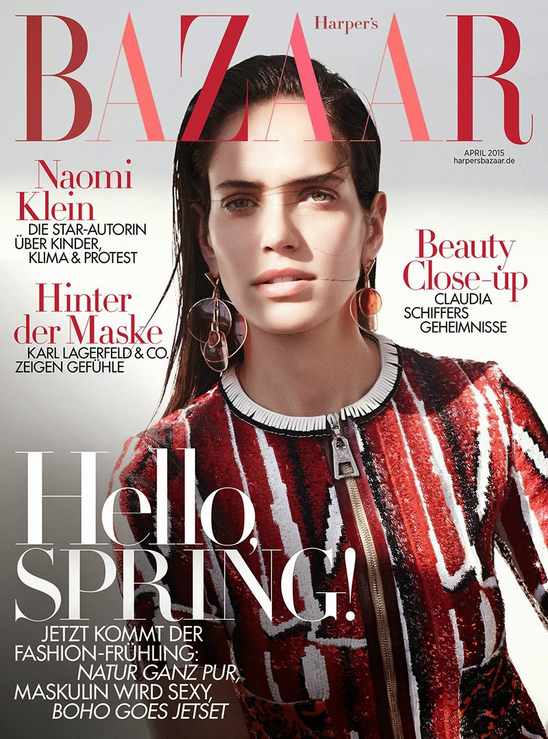 Model @ Amanda Wellsh by Nagi Sakai - Harper's Bazaar Germany, April 2015