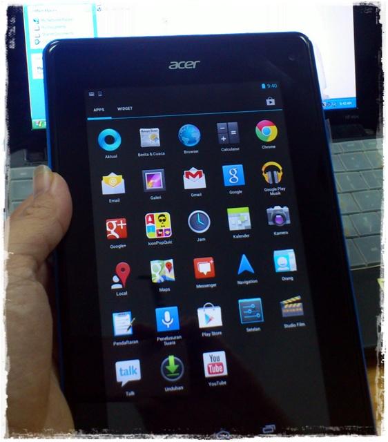 BONOES Acer Iconia B1 A71 Dual Core Branded Murah