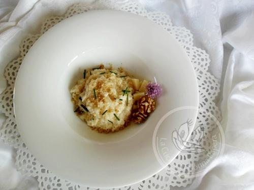 risotto al formaggio rosa camuna- ricetta bimby