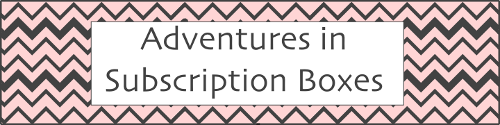 Adventures in Subscription Boxes