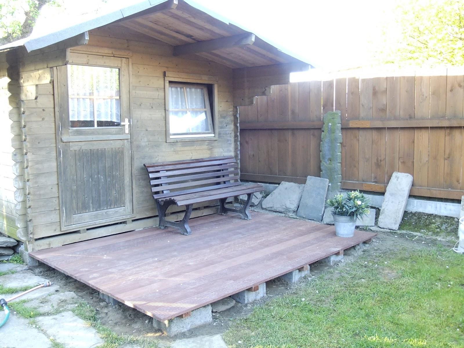 manu s white love terrasse fertig. Black Bedroom Furniture Sets. Home Design Ideas