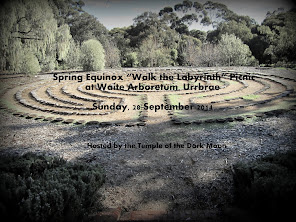 Spring Equinox at the Labyrinth (28 September 2014)