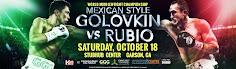 Triple G vs Rubio on 10/18