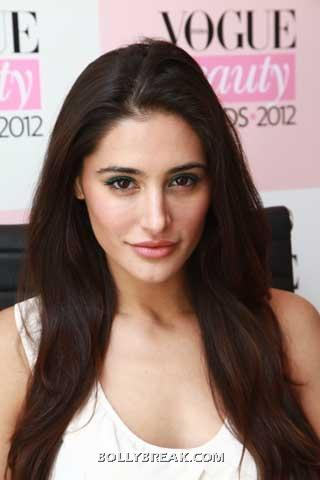 Nargis fakhri close up  - (6) -  Nargis Fakhri at Vogue Beauty Event
