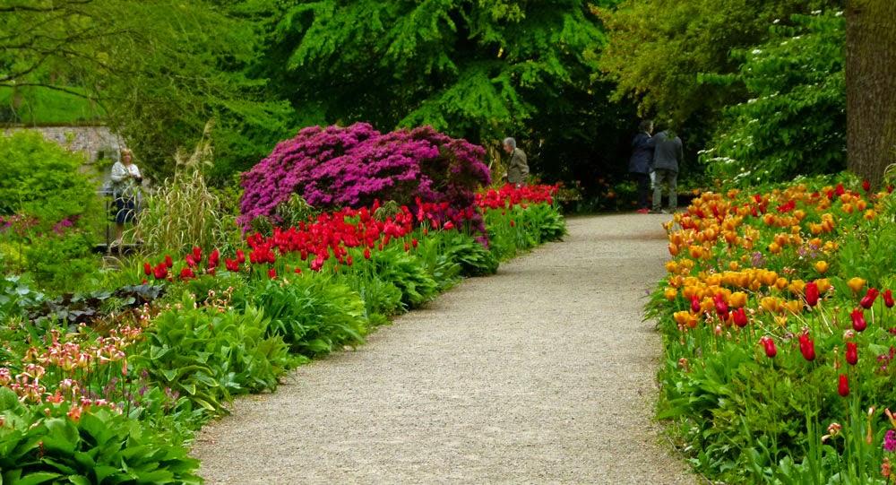 Garden borders, Dunham Massey