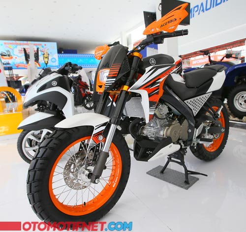 Foto Modifikasi Yamaha New V-Ixion Advance Semi Adventure