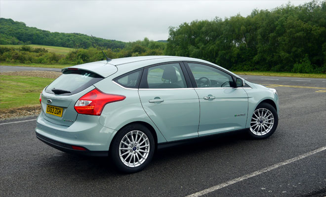 Ford Focus Electric rear view