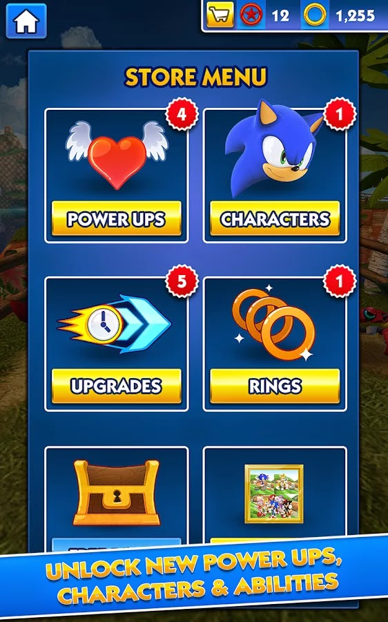 Sonic Dash v2.0.0.Go Mod [Unlimited Money]