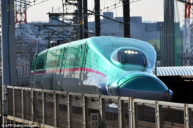 Hayabusa, Japanese Latest Bullet Train