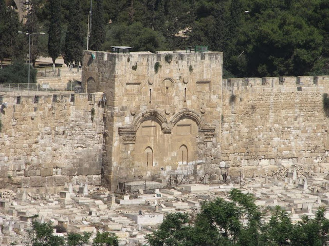 Israel, Jerusalen - Puerta Dorada