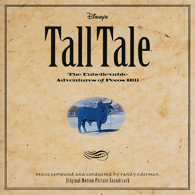 Tall Tale Disney soundtrack Pecos Bill Paul Bunyan John Henry