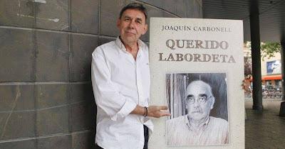 Joaquin Carbonell presenta su libro homenaje a Labordeta