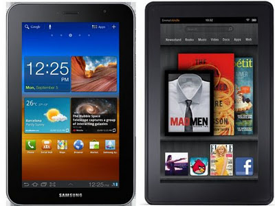 Samsung Galaxy Tab vs Amazon Kindle Fire