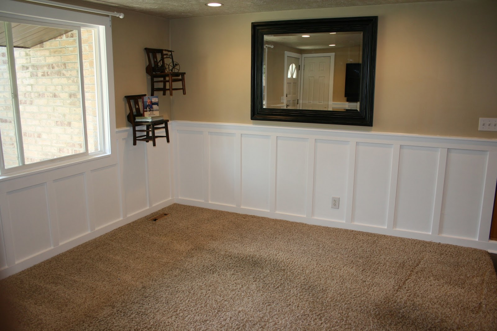 Wainscoting For Living Room Living Room Makeover Find It Make It Love It