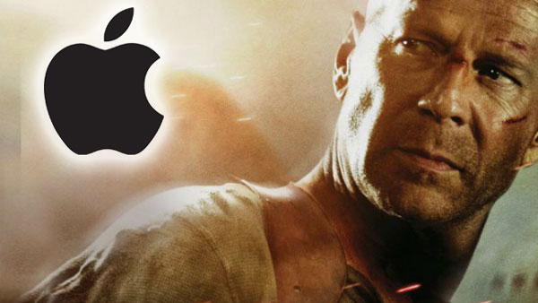 Bruce Willis quiere demandar a Apple por politicas de iTunes