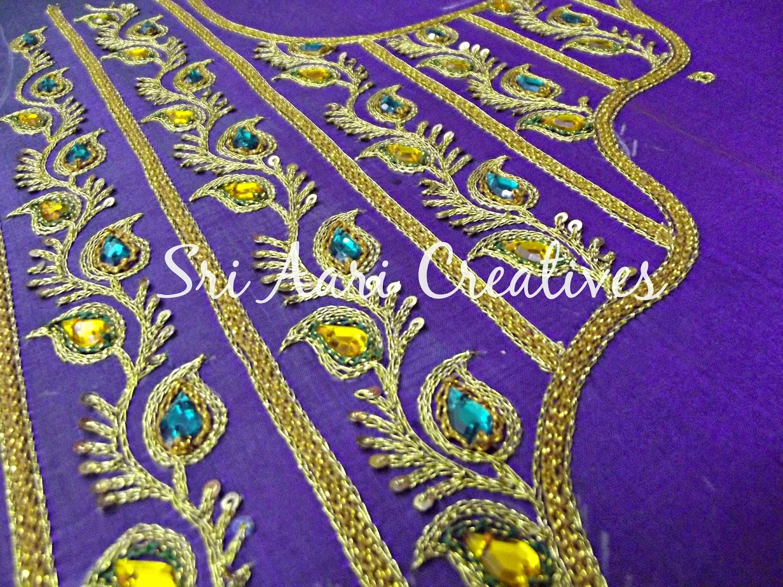 Embroidery designs aari work vicmora
