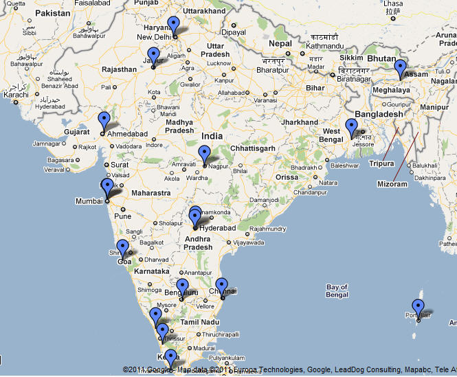International airports in india design plane international airports in india map of india gumiabroncs Choice Image