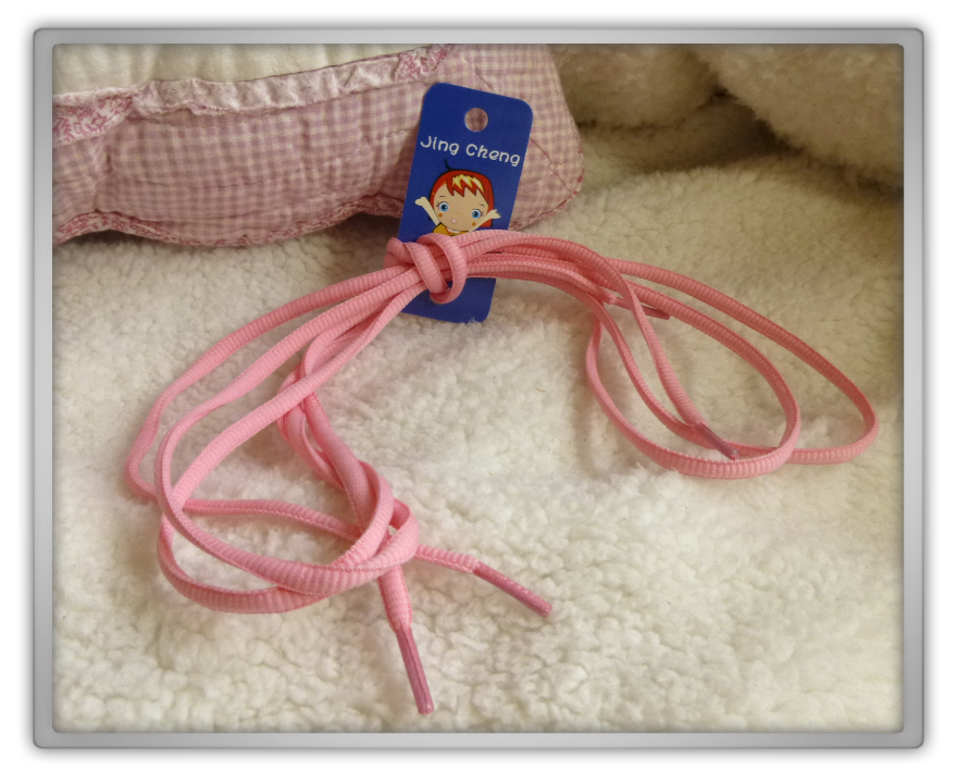 Blippo haul review shoplog thin pastel shoelaces light pink jing cheng kawaii review
