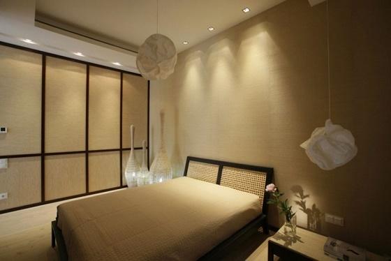 Estupendos dormitorios matrimoniales modernos ideas para for Pareti divisorie stile giapponese