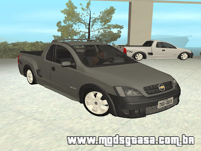 Chevrolet Montana Conquest Edit + Som para GTA San Andreas