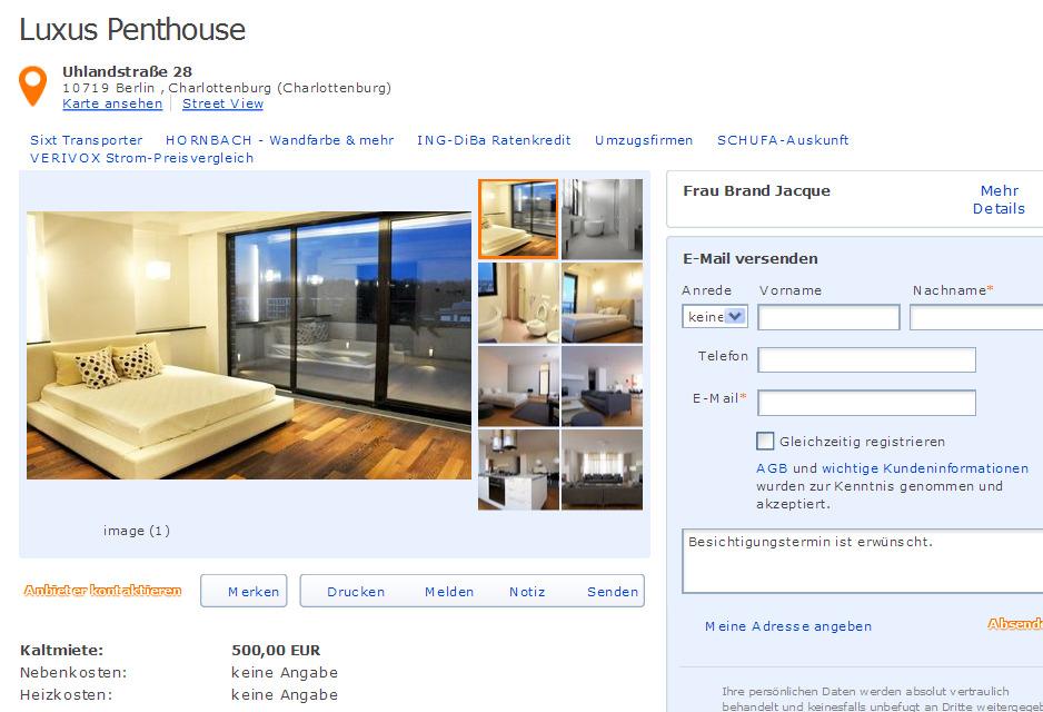 wohnung 2 zi luxus windscheidstr 19 10627 berlin gegen wohnungsbetrug against rental scammers. Black Bedroom Furniture Sets. Home Design Ideas