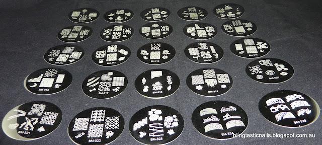 Bundle Monster 2012 stamping plates