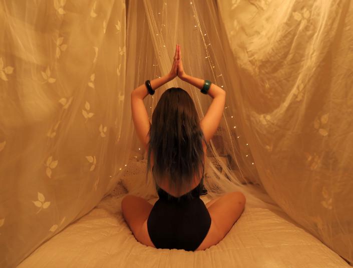 Meditate Boho Bedroom